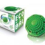 Groene eco wasbol
