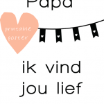 The best vaderdag printables