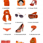 Shopping: Oranje dingen