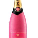 Glaasje roze krokodillenleren bubbels?