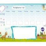 weekplanner voor kinderen