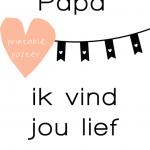 The best vaderdag printables
